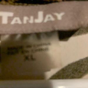 TanJay Tops - Sleeveless wild animal tank top